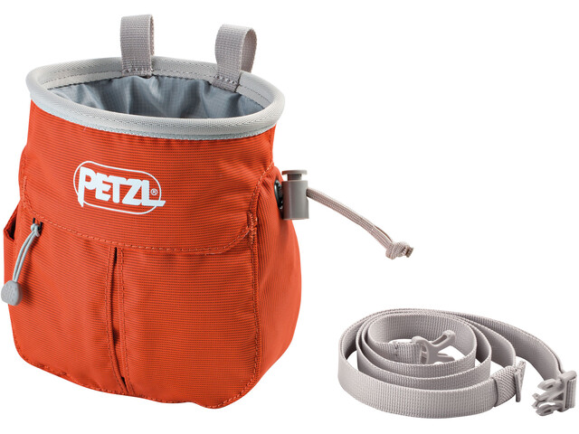 Petzl Sakapoche Magnesium Bag, red